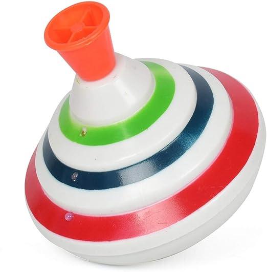 Spinning Tops Juguetes, luz de música Gyro juguete giratorio parte ...
