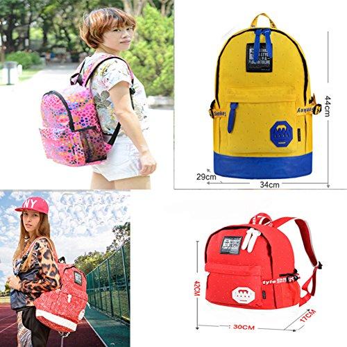 Mode Schulterbeutel / Reise-Schule-Rucksack / Schüler-Schulter-Beutel neue Tasch