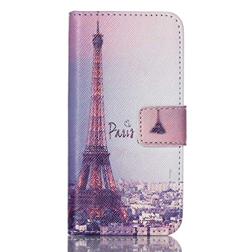 iPod Touch 5 Case, Jenny Shop New Design Dual Use Premium PU Leather Wallet Flip Case with Built-in Card Slots, Cash Pocket, Magnetic Closure for Apple iPod Touch 5th Generation - Moon Ipod Touch 5 Sailor Case
