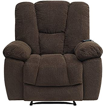 Serta Big u0026 Tall Memory Foam Massage Recliner with USB Charging Chocolate  sc 1 st  Amazon.com & Amazon.com: Serta Big u0026 Tall Memory Foam Massage Recliner CR-46357 ... islam-shia.org