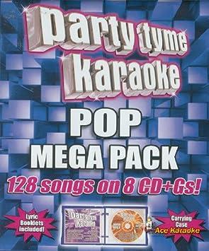 Party Tyme Karaoke CDG SYB4439 - Pop Mega Pack Karaoke