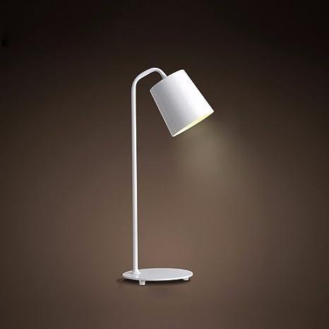 LONFENNE La cabecera simple lámpara de escritorio Lámpara de ...