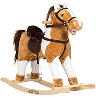 Rockin Rider Turbo Rocking Horse Ride On, White