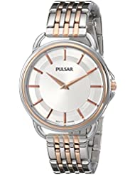 Pulsar Womens PM2098 Analog Display Japanese Quartz Two Tone Watch