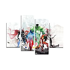 The Avengers Modern Art Canvas Wall Paintings Cuadros Decorativos