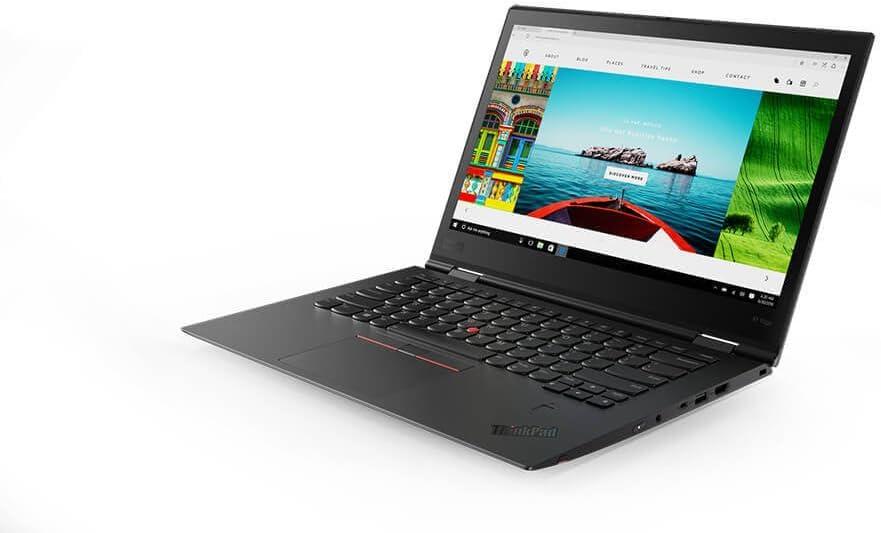 "Lenovo ThinkPad X1 Yoga (3rd Gen) Multimode Ultrabook - Windows 10 Pro - Intel i7-8650U, 1TB NVMe-PCIe , 16GB RAM, 14"" WQHD HDR (2560×1440) Touchscreen with Pen, Fingerprint Reader (Black)"