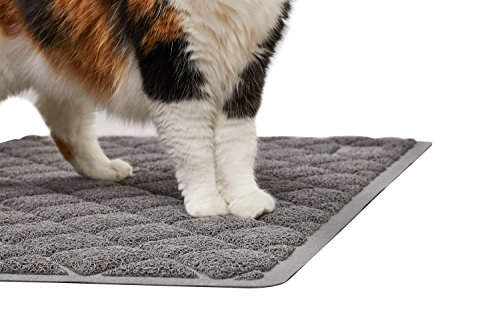 The Original GORILLA GRIP Large Premium Non-Slip Cat Litter Mat, Phthalate & BPA Free, 35