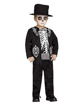 Horror-Shop Rey Esqueleto del Traje de los niños pequeños XL bis 6 ...