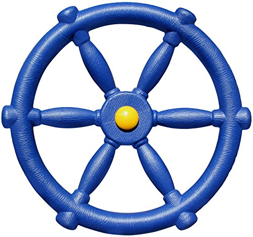 Jungle Gym Kingdom Pirate Ships Wheel - Blue ()