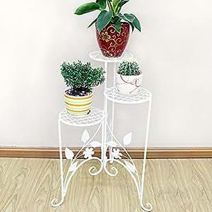 addas Multi–planta flor de mosaico–Suelo con estilo–estilo balcón interior sala de estar estante de ollas