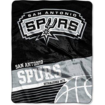 Amazon San Antonio Spurs Fastbreak 40 X 40 Silk Touch Stunning Spurs Throw Blanket