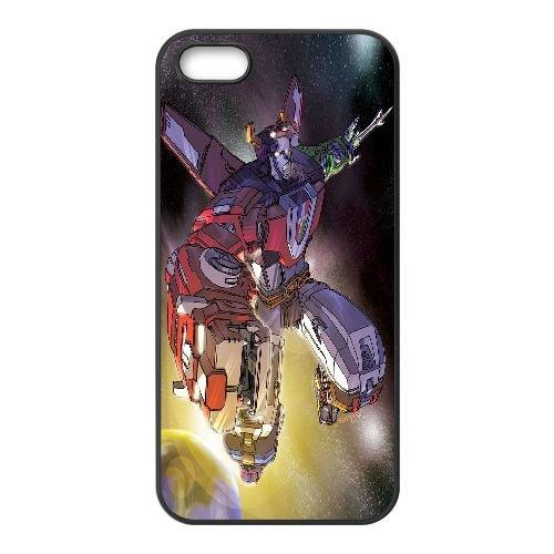 F3D34 Voltron H6T7FN coque iPhone 4 4s cellule de cas de téléphone couvercle coque noire XD5XSB1KV