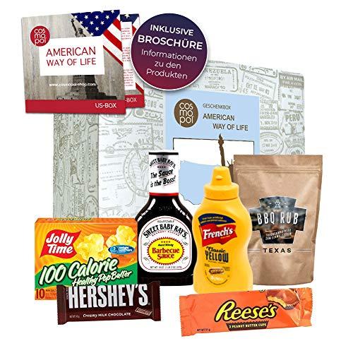 Geburtstags Geschenkbox American Way of life   Geschenkset zum Geburtstag für Amerikafans   Geburtstagsgeschenk USA…
