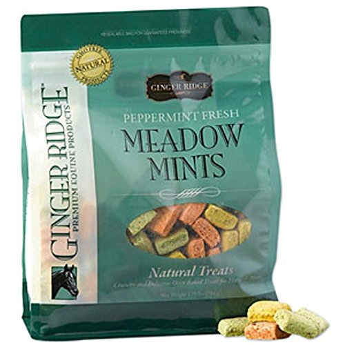 Ginger Ridge Meadow Mints Horse Treats – Peppermint Fresh, 3.5 lb. bag