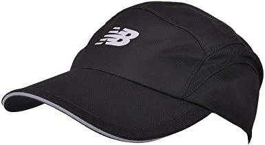 New Balance Gorra 5 Paneles Performance II Negro - Ajustable ...