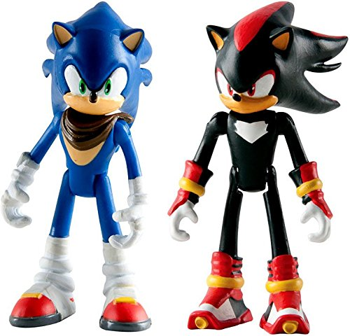 """Sonic The Hedgehog Sonic Boom Sonic & Shadow 3"""" Action Figure 2-Pack"""