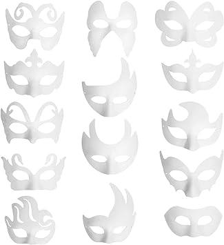 12 x DIY Maske Superheld Bastelset Malen Kindergeburtstag Mitgebsel Superheld