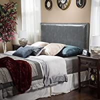 Westin King-to-Cal King Adjustable Leather Headboard