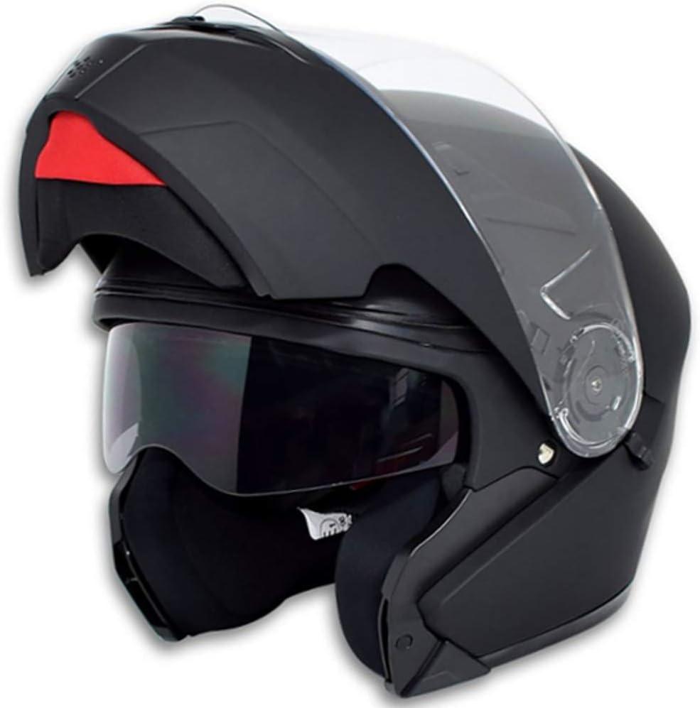 XS, S, M, L, XL Klapphelm Integralhelm Helm Motorradhelm RALLOX 910 schwarz//matt mit Sonnenblende Gr/ö/ße S