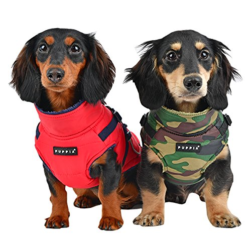 Puppia Pioneer Pet Coat, Large, Red by Puppia (Image #4)
