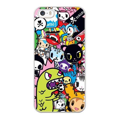 Coque,Coque iphone 5 5S SE Case Coque, Tokidoki Unicorno Cover For Coque iphone 5 5S SE Cell Phone Case Cover blanc