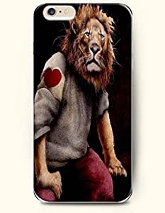 A Sad Lion Man - Art Expression - Phone Cover for Apple iPhone 6 Plus ( 5.5 inches ) - OOFIT Authentic iPhone Case