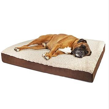De Múltiples Fines Cachemira De Cordero Estera para Perros Cama De Perro Suave Perrera Tela Oxford