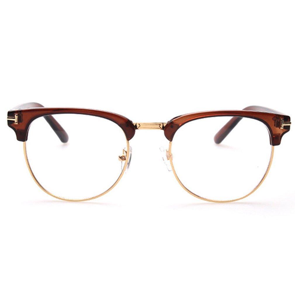 Lomol Fashion Retro Student Style Clear Lens Lightweight Sunglasses C2 51 Mm 4