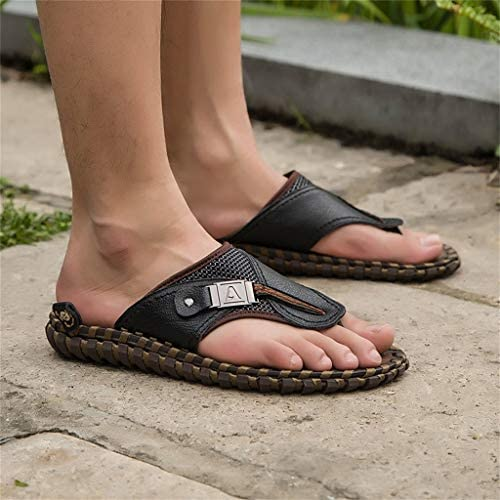 Chaussures Plates R/ésistant /à lusure Respirant Plage Chaussures Tongs SHOBDW Homme Sandales Chaussures D/ét/é Pincer Bascule Bout Ouvert