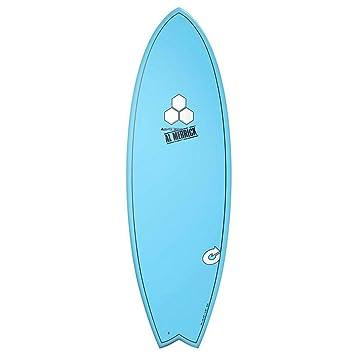 Tabla de surf Channel Islands X-Lite Pod MOD 6.6 Azul AL MERRICK Fish Eps