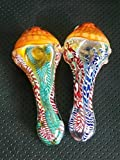 Handmade Stained Glass Spoon Art Making item (4.7in)