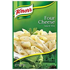 Knorr Pasta Sauce Mix Pasta Sauce Mix, Four Cheese 1.5 oz (Pack of 12)