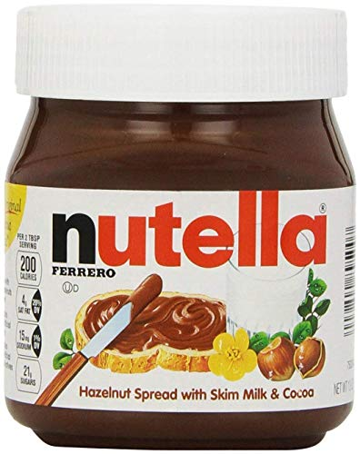 Nutella Hazelnut Spread 13 oz (Pack of (Nutella Hazelnut Spread)