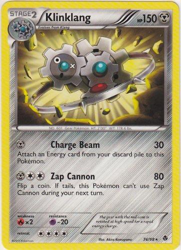 Pokemon: Klinklang (Holo Parallel Foil) - Black & White Emerging Powers