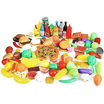 Amazon Com Kidkraft Tasty Treats Pretend Food Play Toys