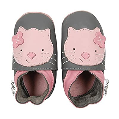 Leather Baby Shoes - Kitten Large 15-21 Months : Baby