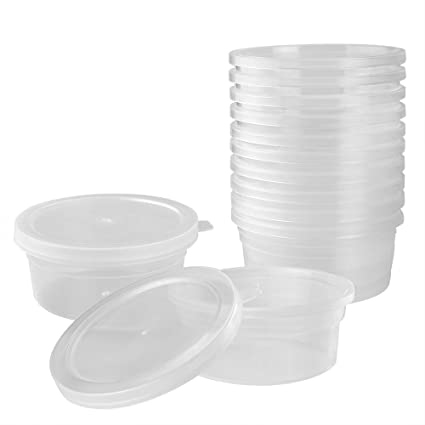 Amazoncom OPount 12 Pack Foam Ball Storage Containers with Lids