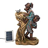 Koehler Home Decor 10016356 29 inch Cool Drink Children Solar Fountain