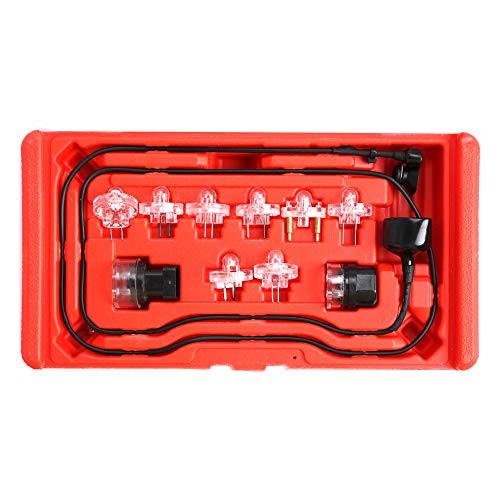 Compatible for 9PC Electronic Fuel Injection Signal Noid Lite Tester Light Set GM/Ford/Bosch