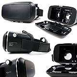 Padded 3D Virtual Reality VR Headset Glasses - Compatible with the Sony Xperia C4, M4 Aqua, M5, Z4 / Z3+, Z4v, X, XA, Z5, Z5 Premium Smartphones