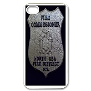 iPhone 4,4S Csaes Cell Phone Case Firefighter Emblem CBQG292570