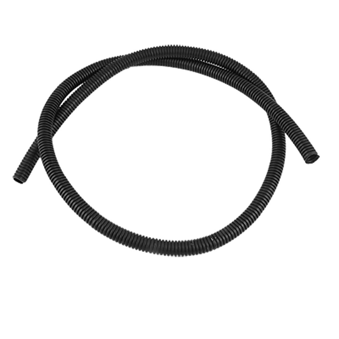 1m Black 13mm Diameter Flexible Corrugated Tube Electric Wire Wiring Conduit Home Depot Diy Tools