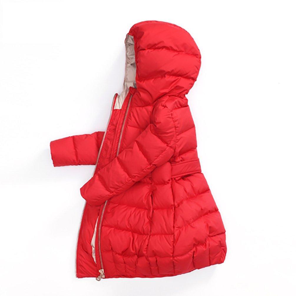 Nanny McPhee Kids Down Coat Baby Girls Warm Long Down Puffer Jacket Outwear Kids Clothing by Nanny McPhee (Image #1)