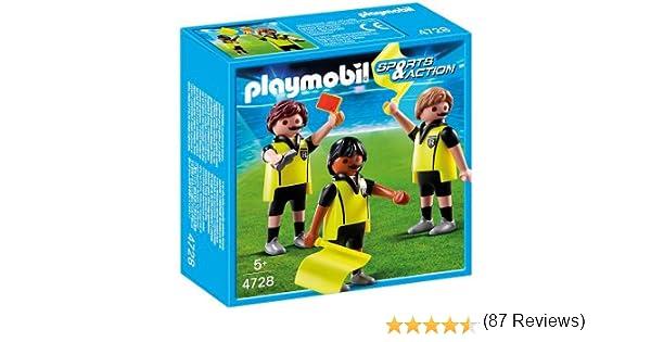 PLAYMOBIL 626668 - Fútbol Trío Arbitral: Amazon.es: Juguetes y juegos