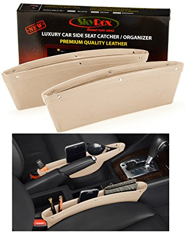 Leather Caddy Organizer Between Console product image
