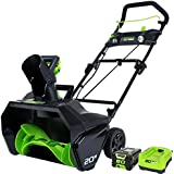 "GreenWorks Pro 80V 20"" Snow Thrower w/ 2Ah Battery & Charger"