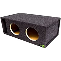 SQ-10DQVDD Soundqubed-10 Soundqubed Dual Vented, Sounqubed woofer specific enclosure certified