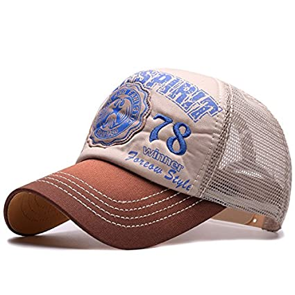 ALWLj Summer Baseball Cap Vintage Embroidery Mesh Cap Hats for Men Women Gorras Hombre Hats Casual