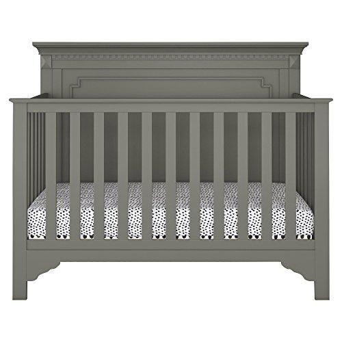 Baby Relax Teri 5-in-1 Convertible Crib, Graphite Gray ()