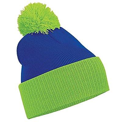 Beechfield Snowstar Duo Two-Tone Winter Beanie Hat